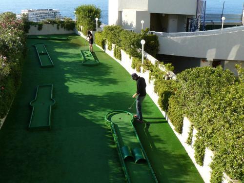 Minigolfbaan bij Appartementen Vigilia Park Tenerife