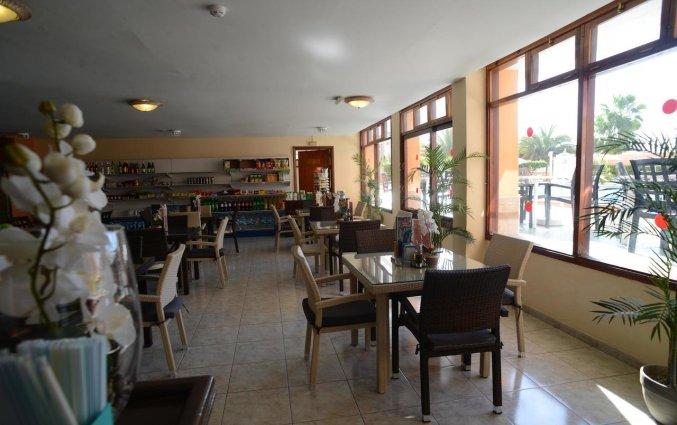 Restaurant van appartementen Caribe