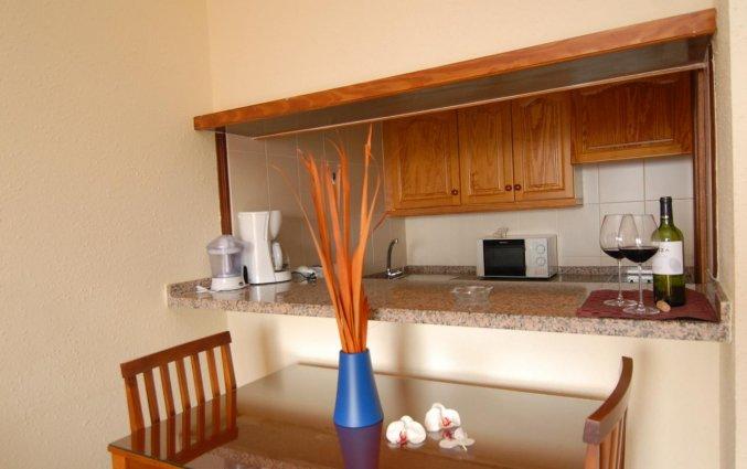 Tweepersoonskamer van appartementen Caribe