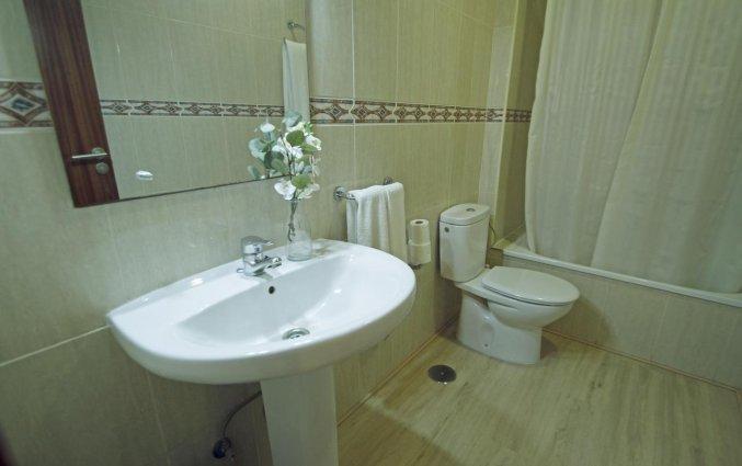 Badkamer van appartementen Caribe