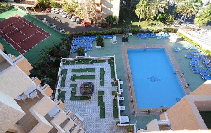 uitzicht van appartementen Caribe