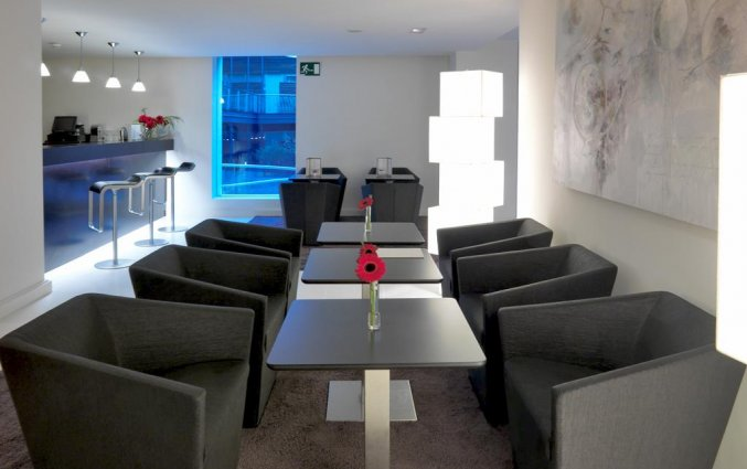 Lounge van hotel Hospes Palau de La Mar in Valencia