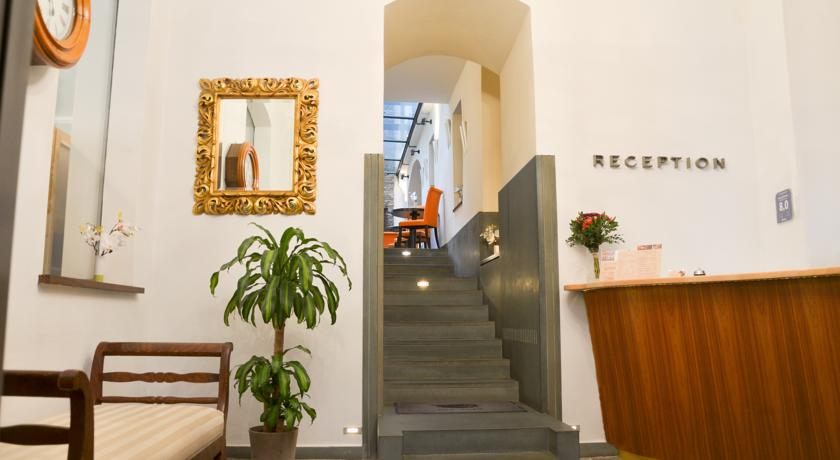 Lobby van Hotel Design Neruda Praag
