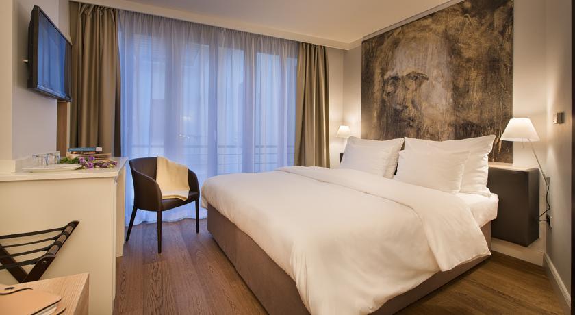 Tweepersoonskamer van Hotel Design Neruda Praag