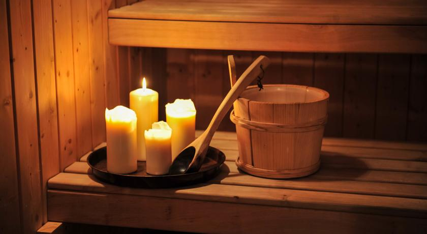Sauna van Hotel Design Neruda Praag