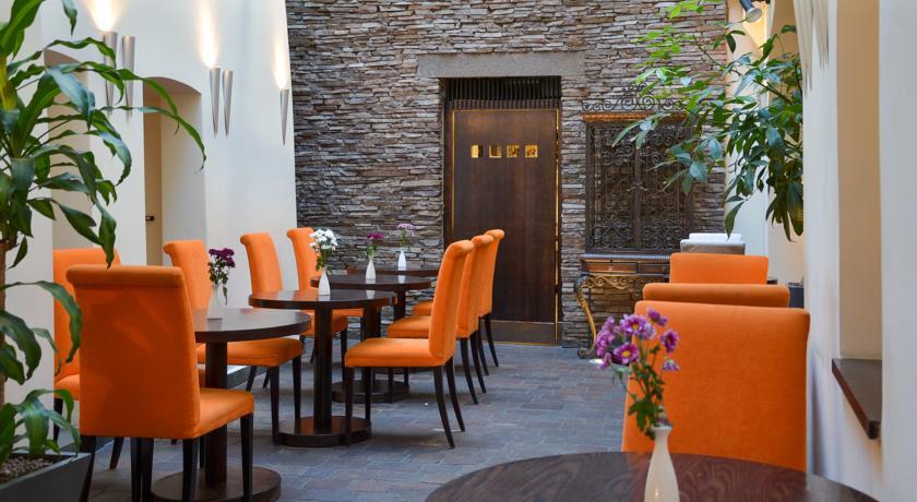Restaurant van Hotel Design Neruda Praag
