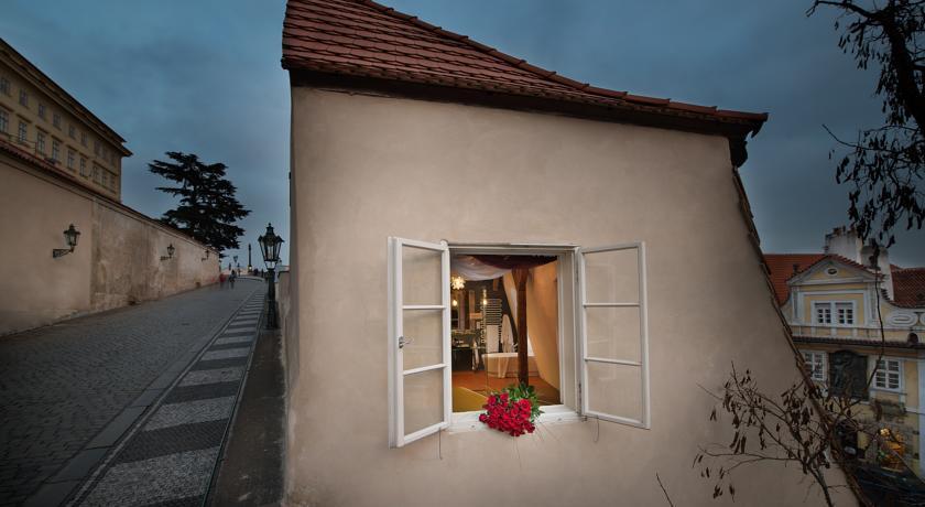 Gebouw van Hotel Design Neruda Praag