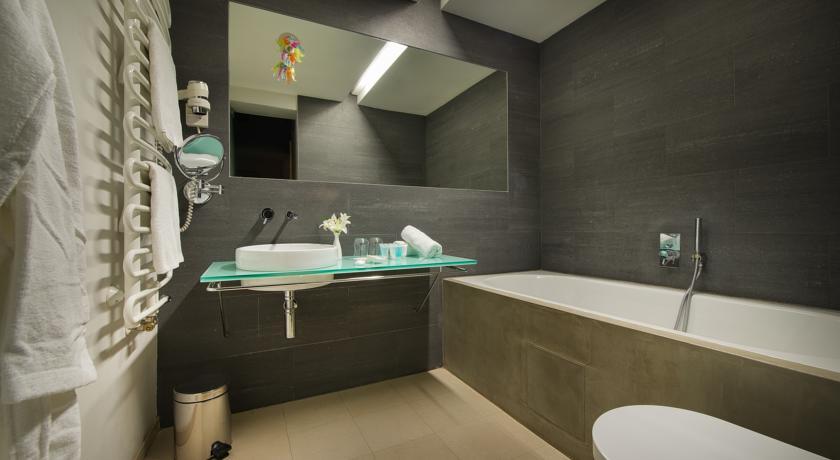 Badkamer van Hotel Design Neruda Praag