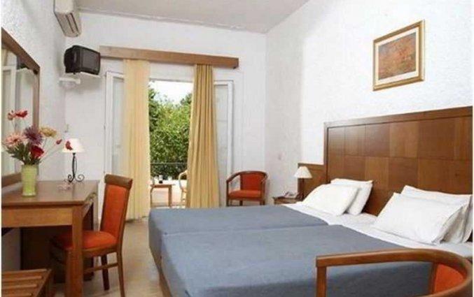Kamer van Hotel Popi Star op Corfu