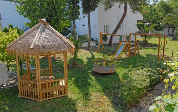 Speeltuin van Hotel Popi Star op Corfu