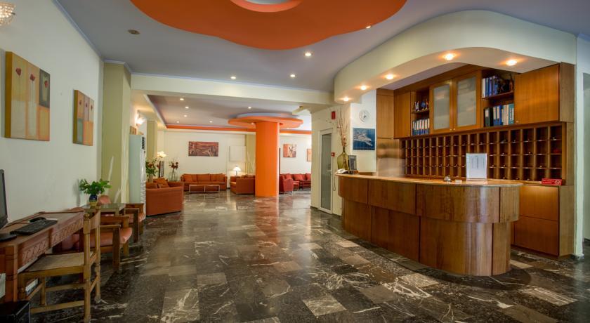 Receptie van Hotel Popi Star op Corfu