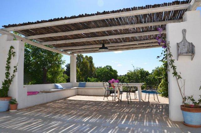 Terras van Bed & Breakfast Trulli Terra Magica in Puglia