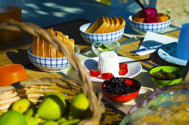 Ontbijt van Bed & Breakfast Trulli Terra Magica in Puglia