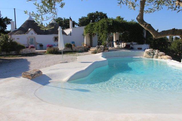Tuin van Bed & Breakfast Trulli Terra Magica in Puglia
