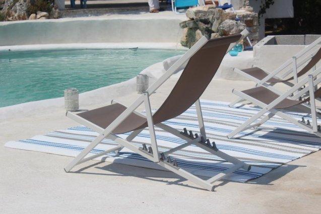 Zonneterras van Bed & Breakfast Trulli Terra Magica in Puglia