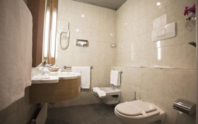 Badkamer in Hotel Diplomatic Turijn