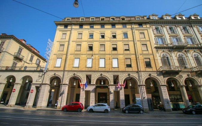 Buitenkant van Hotel Diplomatic Turijn