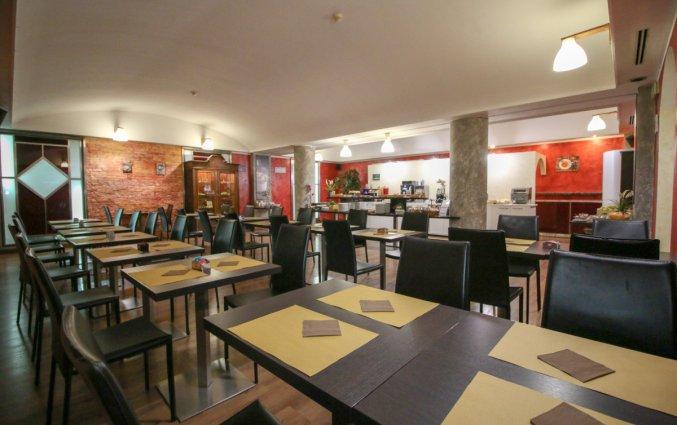 Ontbijtruimte in Hotel Diplomatic Turijn