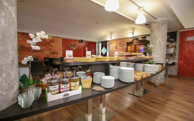 Ontbijtbuffet in Hotel Diplomatic Turijn