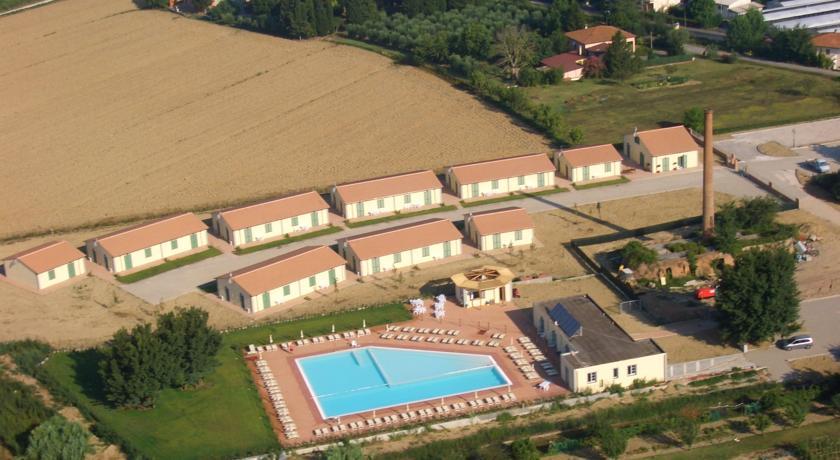 Uitzicht op Resort Eden Park in Toscane