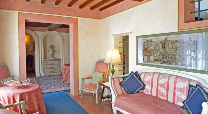 Lobby van Hotel Calamidoro Toscane