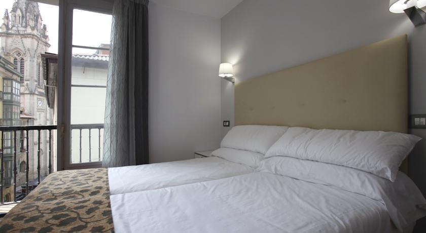 Tweepersoonskamer van Hotel Casual Gurea in Bilbao