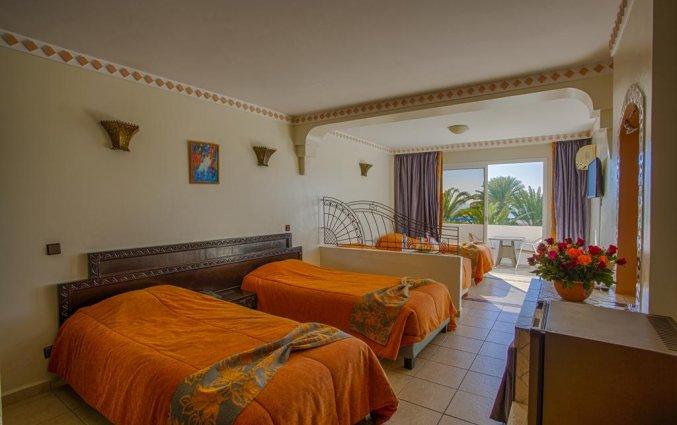 Driepersoonskamer van Hotel Club Almoggar Garden Beach in Agadir