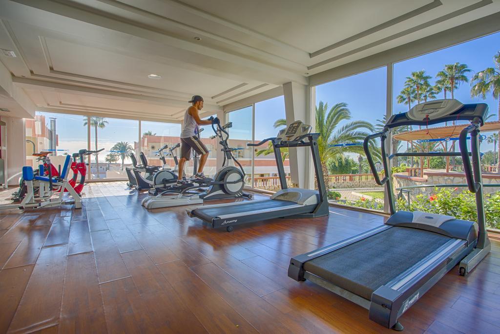 Fitnessruimte van Hotel Club Almoggar Garden Beach in Agadir