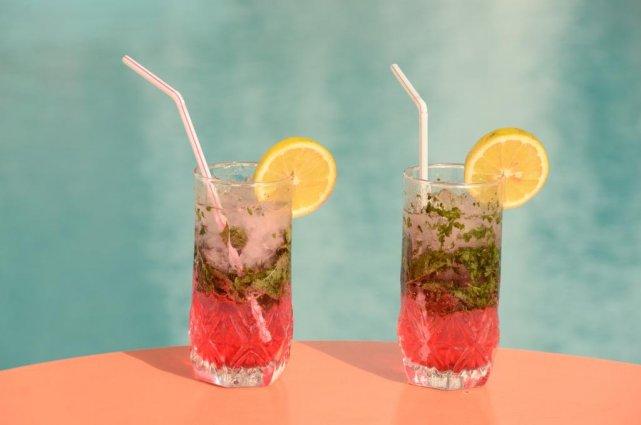 Cocktails bij Aparthotel Atlantic Palm Beach Agadir