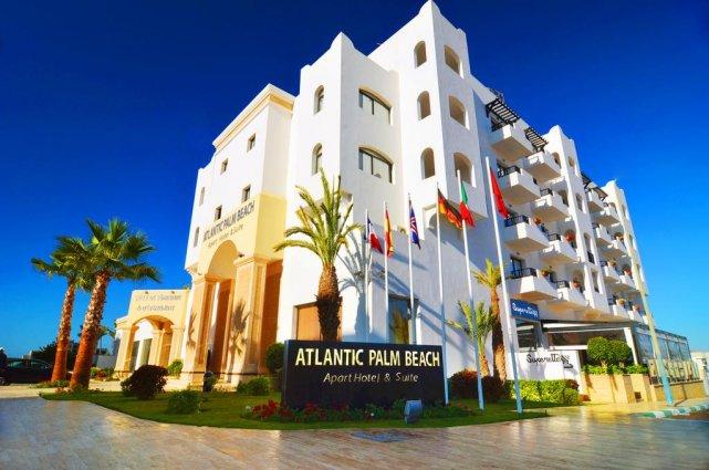Het buitenaanzicht van Aparthotel Atlantic Palm Beach Agadir