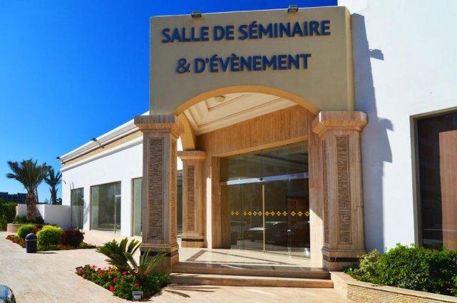De ingang van Aparthotel Atlantic Palm Beach Agadir