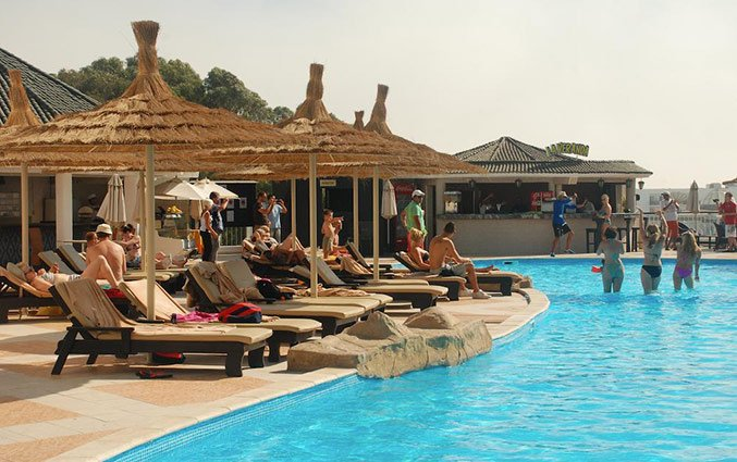 Zwembad van Hotel Royal Mirage Agadir