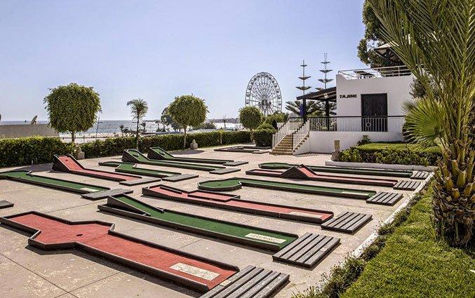 Minigolf van Hotel Royal Mirage Agadir