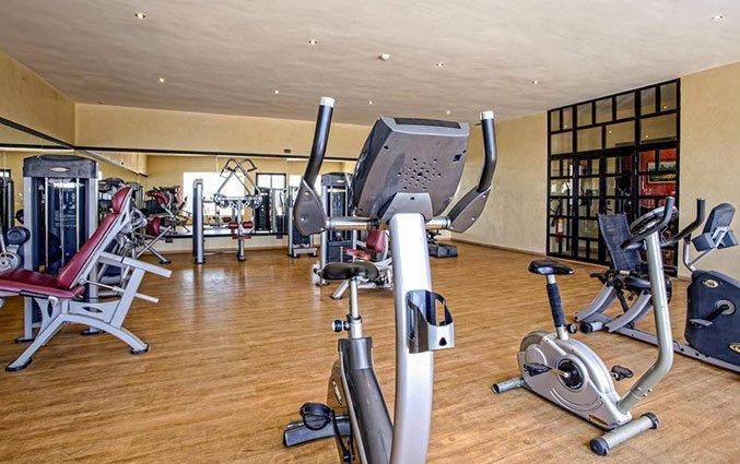 Fitness ruimte van Hotel Royal Mirage Agadir