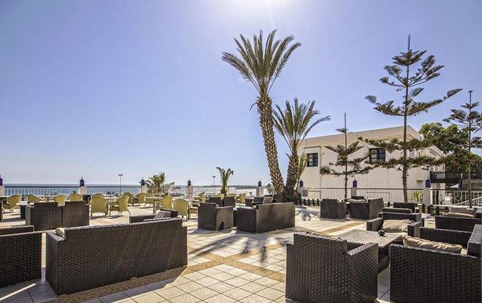 Terras van Hotel Royal Mirage Agadir