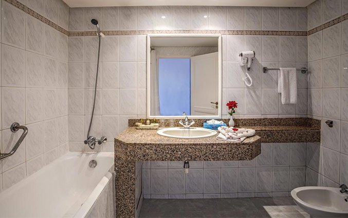 Badkamer van Hotel Royal Mirage Agadir