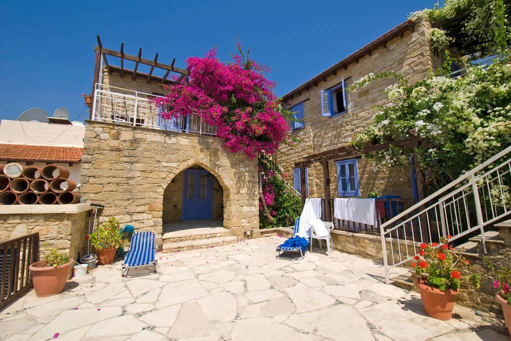 Terras van Appartementen Cyprus Village