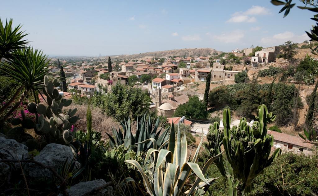 Uitzicht vanaf Appartementen Cyprus Village