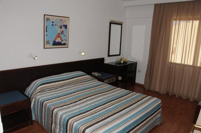 Slaapkamer van Appartementen Atrium Zenon Larnaca Cyprus