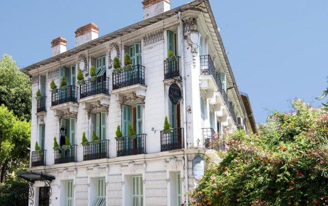 Vooraanzicht van Hotel Villa Rivoli Nice