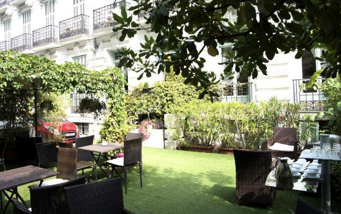 Tuin van Hotel Villa Rivoli Nice