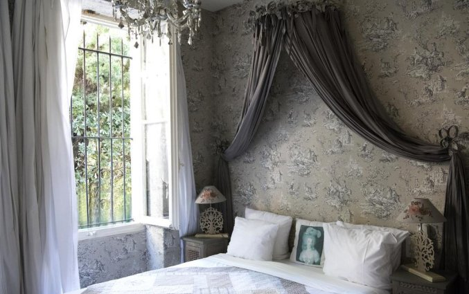 Tweepersoonskamer van Hotel Villa Rivoli Nice