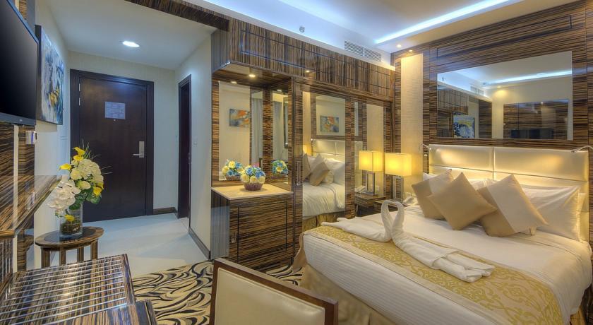 Tweepersoonskamer van Hotel Orchid Vue in Dubai