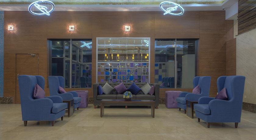 Lounge van Hotel Orchid Vue in Dubai