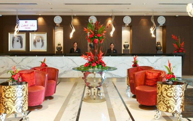 Receptie met lounge van Hotel Carlton Al Barsha in Dubai