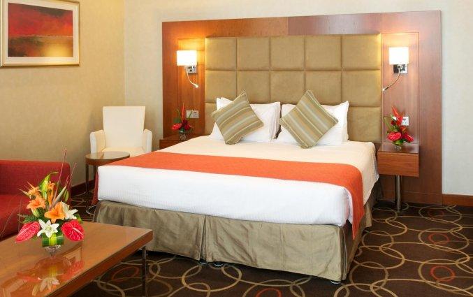 Tweepersoonskamer van Hotel Carlton Al Barsha in Dubai
