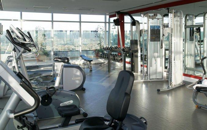 Fitnessruimte van Hotel Carlton Al Barsha in Dubai