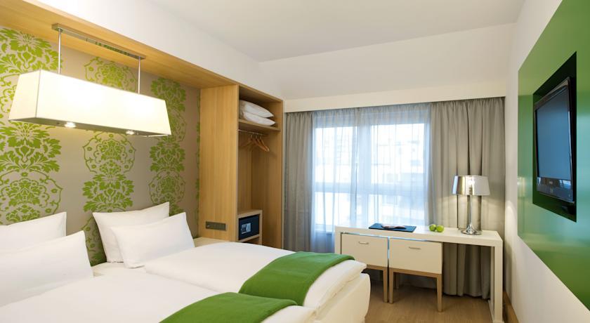 Tweepersoonskamer van Hotel NH Berlin Postdamer Platz in Berlijn