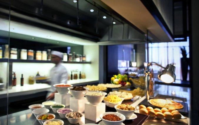 Restaurant van Hotel Centro Basrha in Dubai