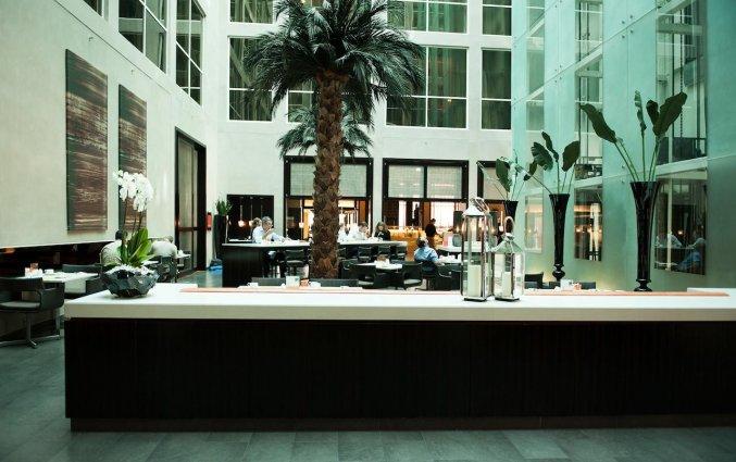 Receptie van Hotel Centro Basrha in Dubai